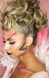 Flamingo Halloween Makeup