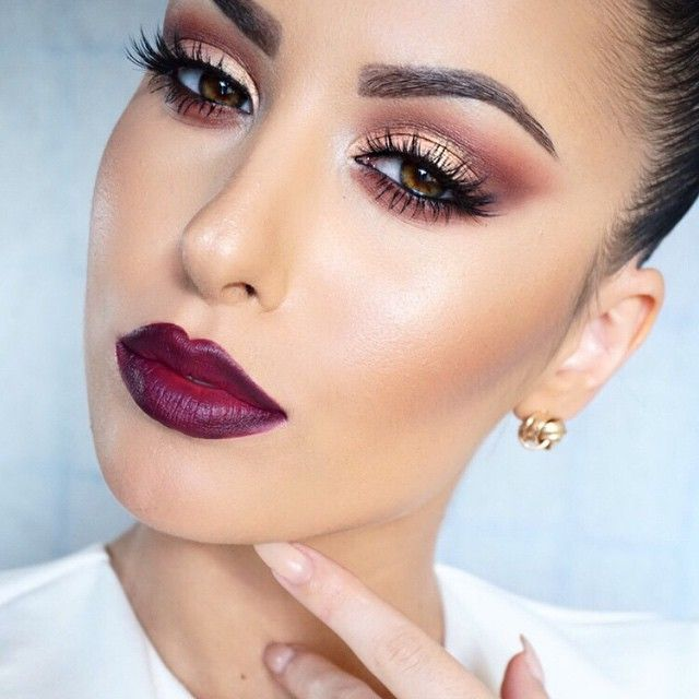 How to Use Makeup to Make Eyes and Lips Appear Larger images