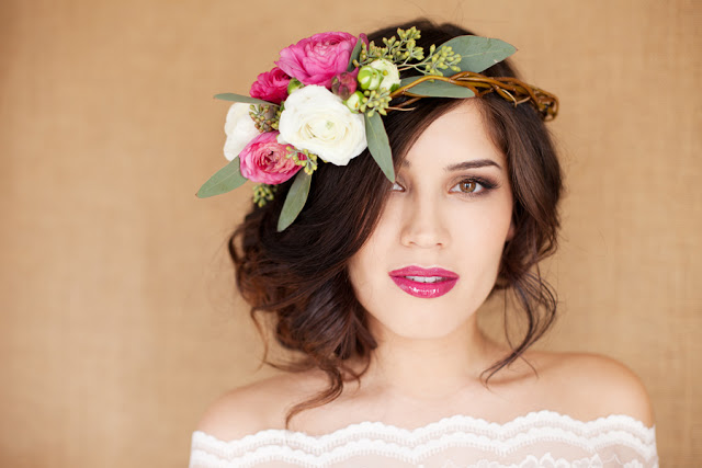 how to make a flower crown out of hair