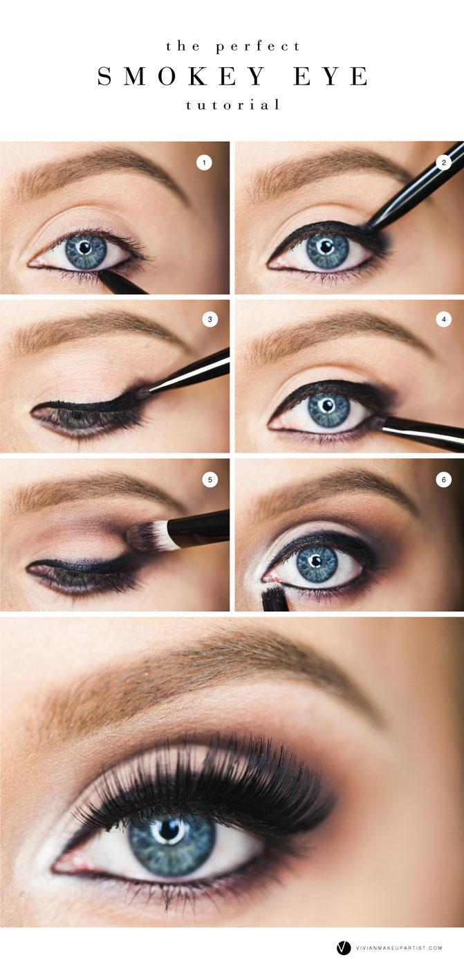 The Perfect Smokey Eye Vivian Makeup Artist Blog