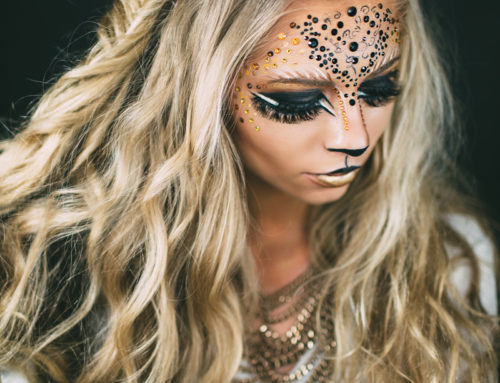Halloween Lion's Makeup