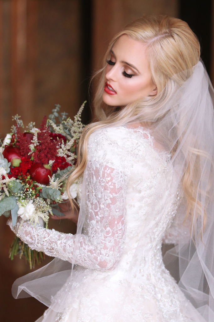 winter_bridal_makeup_hair