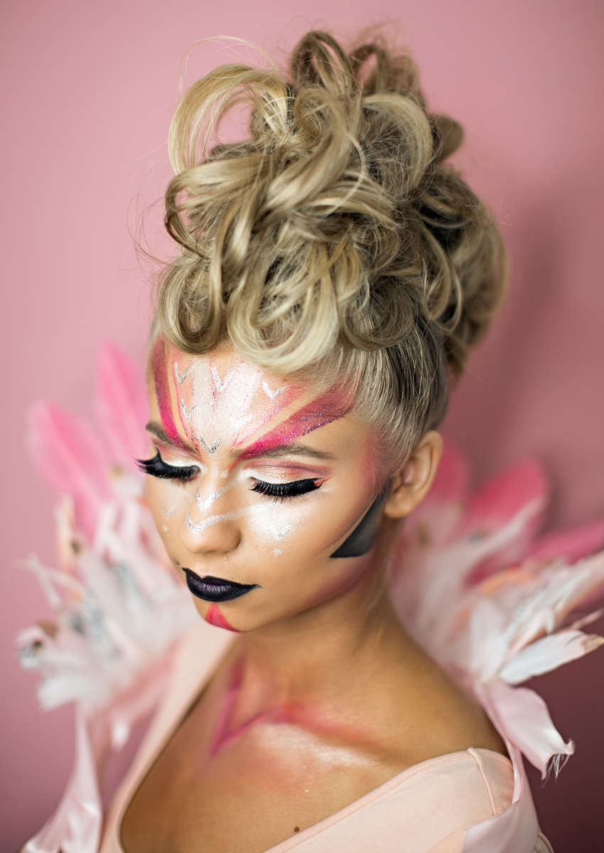flamingo_makeup_halloween_vivianmakeupartist_web